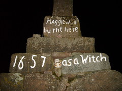 Picture 023 (rickiemclaughlan) Tags: halloween stirling perthshire crosses witches witchcraft pagans dunning burnedatthestake maggiewalls witchescross