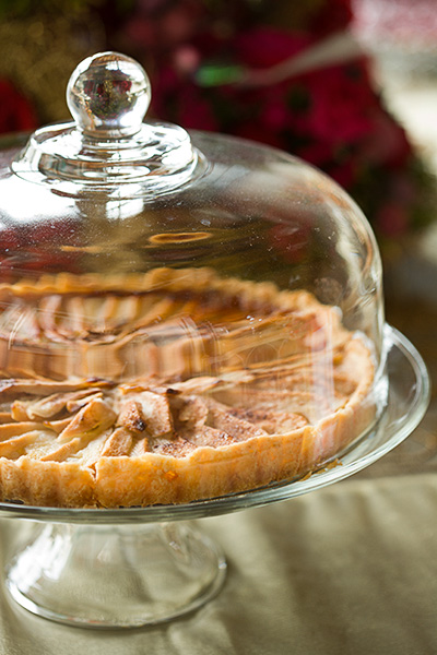 Glass Domed Cake Plate 2