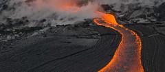 River to the Sea (JLambus) Tags: red black hawaii lava pele jlambus