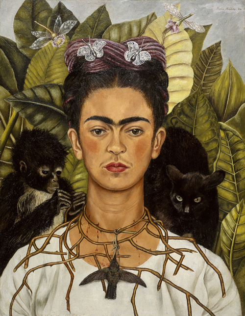 Kahlo_Self-Portrait_with_Thorn_1940