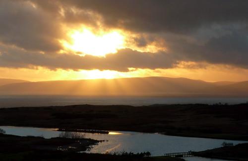 Sunset from Fairlie moor 27Nov08