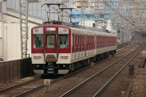 Kintetsu1230series in Imazato,Osaka,Osaka,Japan 2008/11/29