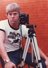 """Self Portrait"" or ""What A Geek?"" Feb 1983 (nztony) Tags: selfportrait nerd geek canona1"