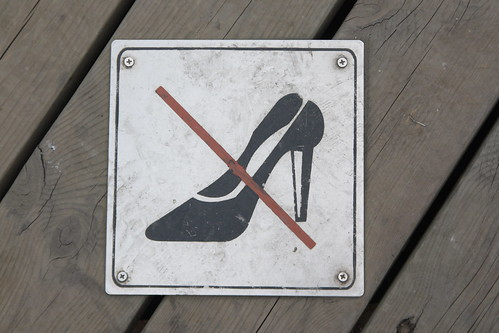 no high heels by HerrBerta, on Flickr