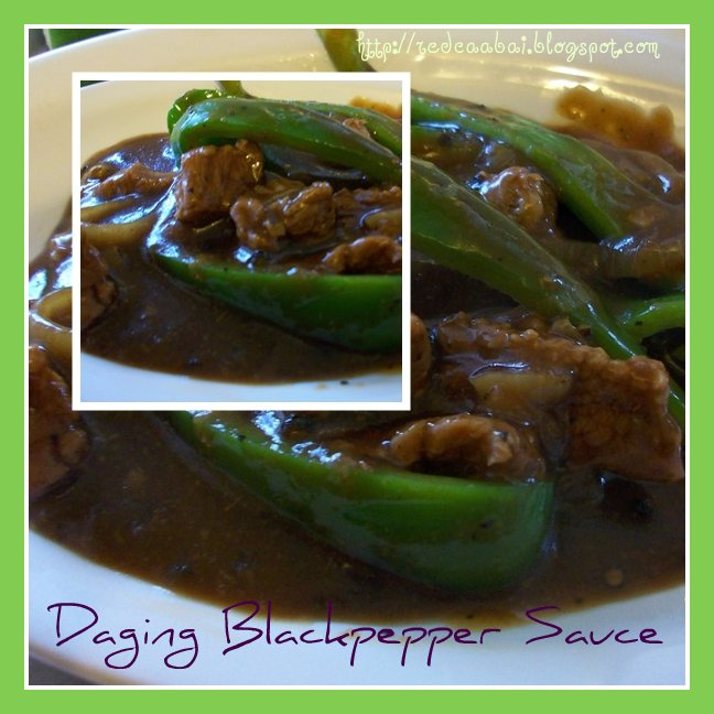 daging blackpepper sauce