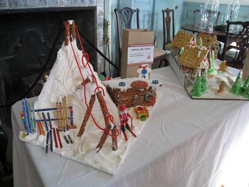 Gingerbread Festival: Santa's Ski Chalet