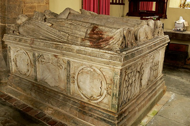 chest tomb, alabaster, tudor