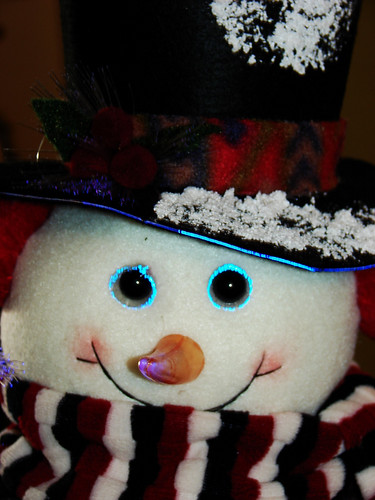 Frosty the snowman ...