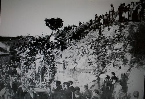Romería del Valle, Toledo, a finales del siglo XIX