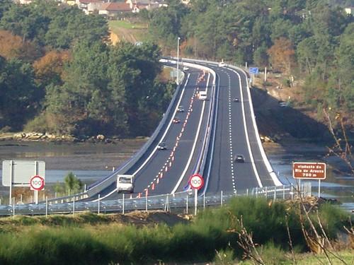 viaduto ría de Arousa