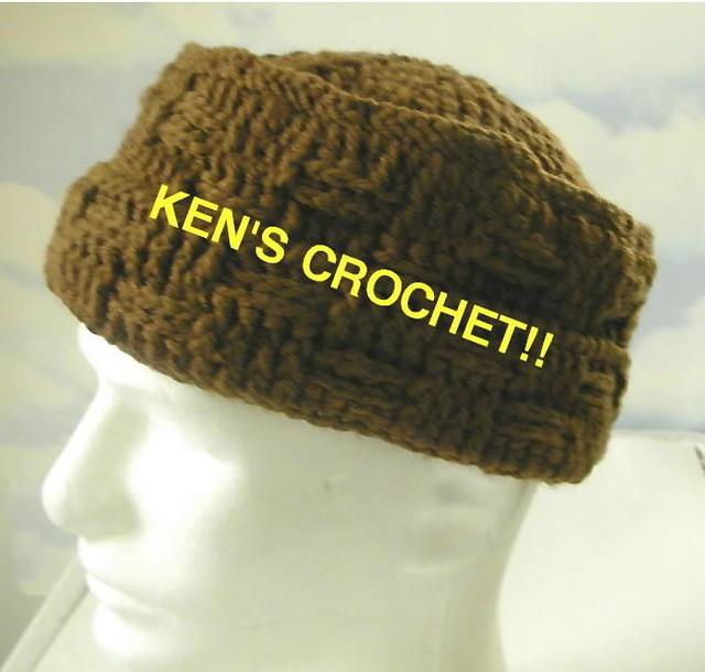 Ravelry Mens Basketweave Crown Hat Pattern By Ken Jones Crochetguy