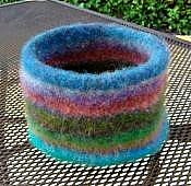 Ravelry: Knitted Felted Bowl with Bottom Welt pattern by ...