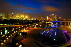 """Marina Barrage, Twilight!"" (Filan) Tags: longexposure bulb marina fun twilight singapore singapura filan the4elements marinabarrage filanthaddeusventic flickrclassique marinabarragesingapore filand3 nikonfilan filanthography nikonianfilan"