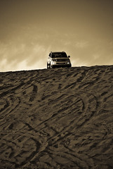 Volcanic Dune (Shakir's Photography) Tags: sand dune car desert safari sv 4x4 sun hot halfmoon bay beach toyota land cruiser shanko