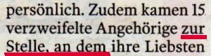 schlechtes Deutsch