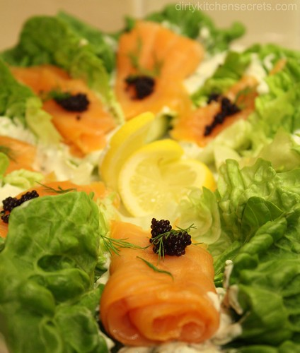 3138406643 4905cedc5e Smoked Salmon on a Bed of Lettuce