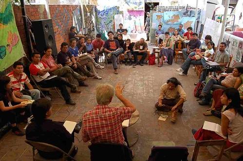 el trabajo en equipos es la voz y eje de cada sesión de el otro seminario