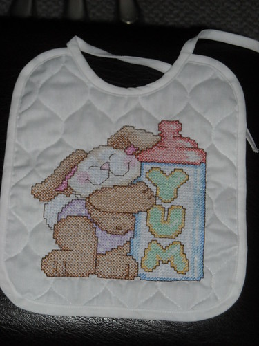 Cross Stitch Bib for Baby
