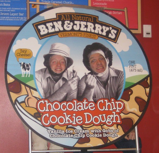 Us at Ben & Jerry's
