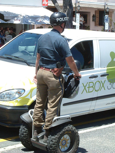 police on segway por wooze66.