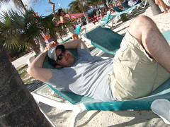 Loungin in Cococay