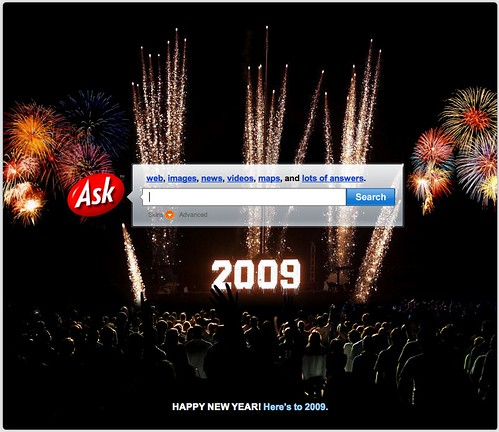Ask.com New Years