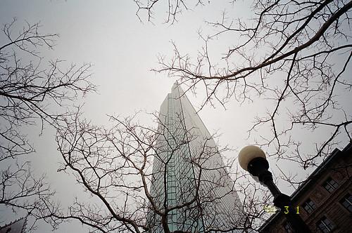 The Hancock (John Hancock Tower) (by masamonster)