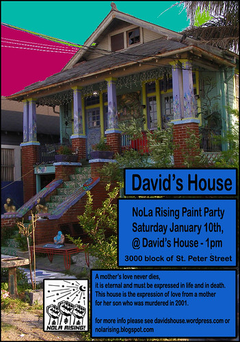 NoLA Rising Paint Party at David's House