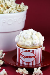 Popcorn Cupcakes (Sweetness in Seattle) Tags: food cake dessert sweet sugar cupcake popcorn