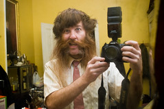_DSC5707 (dogseat) Tags: camera hairy selfportrait reflection me hair beard mirror ginger nikon tie moustache sp messy 365 chops badhairday burners dogseat beardo muttonchops project365 365days 53365