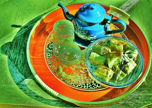 Arabisque tea time