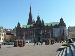 Radhus in Malmo Sweden - City Hall (litlesam1) Tags: sweden malmo euorpe scandanavia