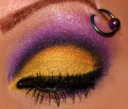 Purple and Gold 2