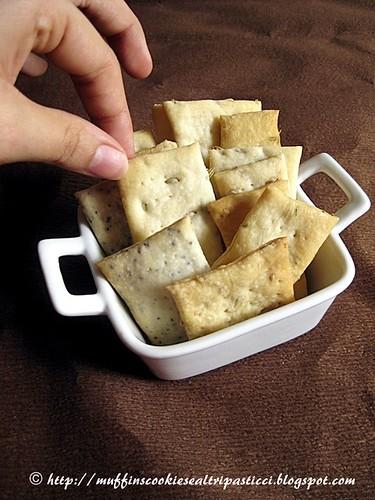 Crackers multigusto a lievitazione naturale (Sorelle Simili)