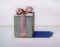 Wayne Thiebaud, Gift box, 1981, Sold for $376,500 at Christie's November 9 1999