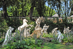 Le carré des Niobides de la villa Médicis (Rome)