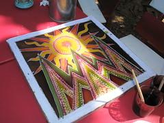 Batik #2 - Freshly painted