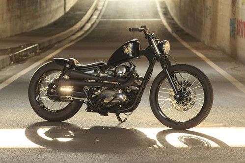W400 Bobber Built By Bratstyle 1