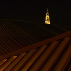 Antwerpen Cathedral -Minimal rooftop approach (Boriann) Tags: night lights view cathedral belgium belgique belgi olympus minimal steeple cathdrale antwerp e3 belgica zuiko antwerpen amberes anvers swd 43 kathedraal belgien evolt blgica anversa belgia zd fourthirds onzelievevrouwekathedraal antwerpia  antverpy    fourthird 1260mm olympuse3 1260mmswd utata:project=nocturnal2 rbuijsman evolte3 olympusevolte3   wwwboriannbe boriann  boriannberbuijsman