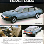 Rover SD1 2000 advert