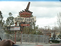 Savoy Motor Lodge (.Hollie.) Tags: retrosigns vintagemotel