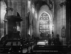 Choir, St Andrew's Cathedral, Sydney, looking east