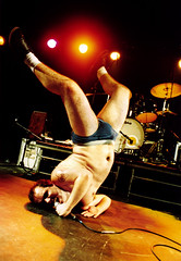HAR MAR SUPERSTAR (Mark Berry - Photographer & Graphic Designer) Tags: 2003 music rock naked bristol photography mar photo student concert rooms photographer live gig performance pop american singer superstar anson outrageous har headspin harmarsuperstar markberry seantillmann