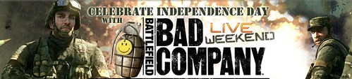 Xbox.com | Calendar of Events - Celebrate Independence Day with Bad Company LIVE Weekend