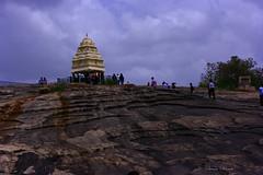 Kempegowda Tower (Swami Stream) Tags: india tower canon landscape rebel bangalore karnataka lalbagh historicalmonument kempegowda xti swamistreamcom