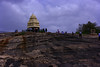 Kempegowda Tower (Swami Stream) Tags: india tower canon landscape rebel bangalore karnataka lalbagh historicalmonument kempegowda xti swamistreamcom