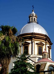 A silver dome: S. Saverio, Palermo, Italy (sanguedolces) Tags: palermo churchs the 5photosaday anawesomeshot regionalgeographicsicilia