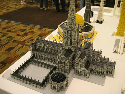 LEGO mini Cathedral