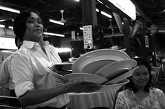 talent (jahat) Tags: bw malaysia kualalumpur waitress server occupation inspiredbylove