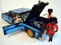 "LUGNuts ""Show Your Age"" challenge...'71 Caddy Eldorado! (Lino M) Tags: seattle car 1971 lego afro 71 cadillac eldorado 70s africanamerican build challenge lino caddy lugnuts afrodite blaxploitation blackculture showyourage bluevoodoo downtownactionbrown"